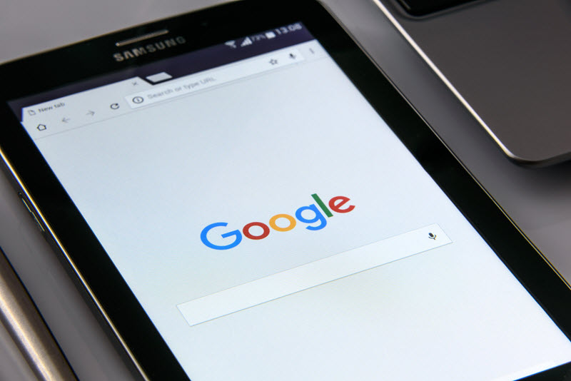 recherche locale sur google
