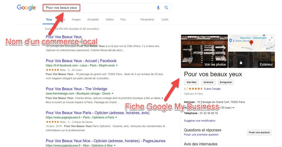 Exemple de fiche Google My Business commerce local-min (1)