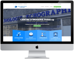 creation site internet cabinet de radiologie