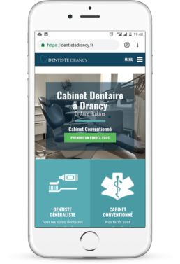 creation site mobile dentiste-min