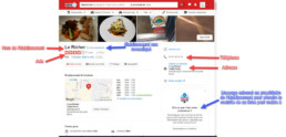 Citation locale Structurée yelp